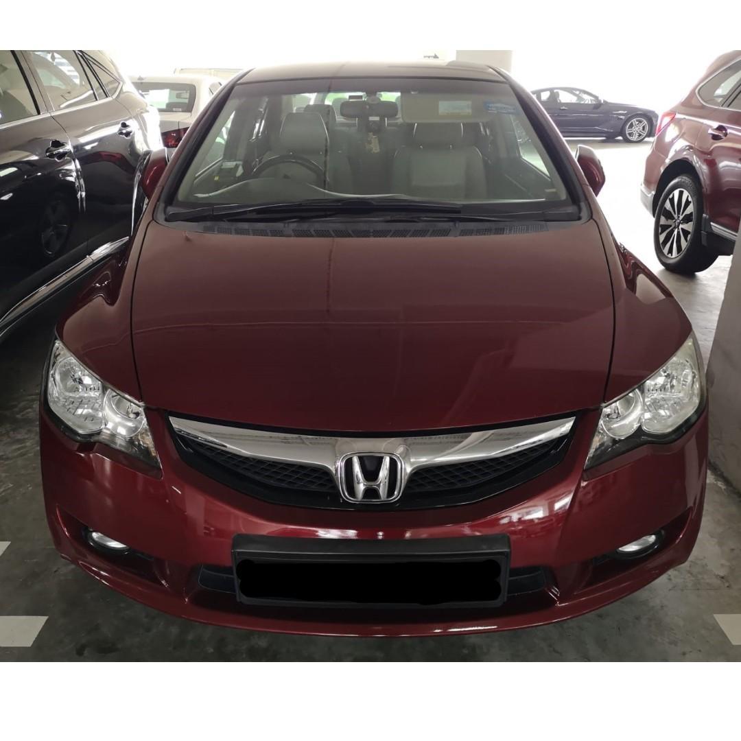 🚗 Honda Civic 1.8A (Gojek Rebate!!) 🚗