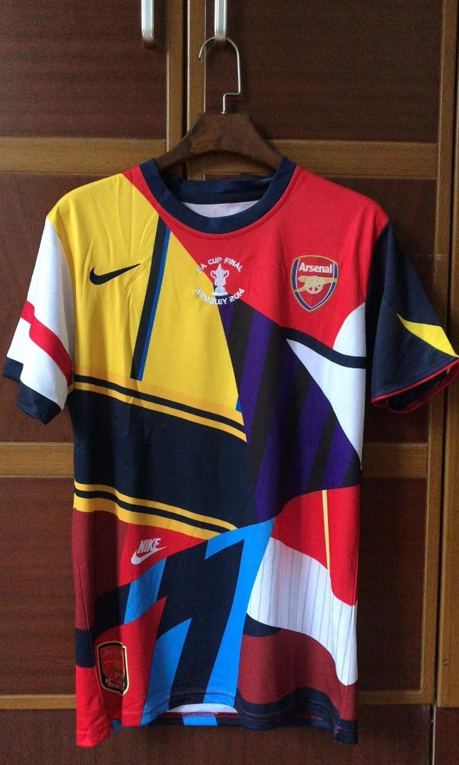 online store 1f3d7 1d039 Arsenal Jersey 20th Anniversary Special Edition FA Cup Final ...
