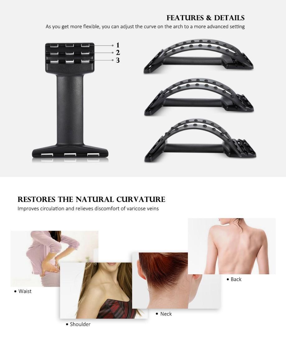 Back Massage Stretcher Lumbar Support