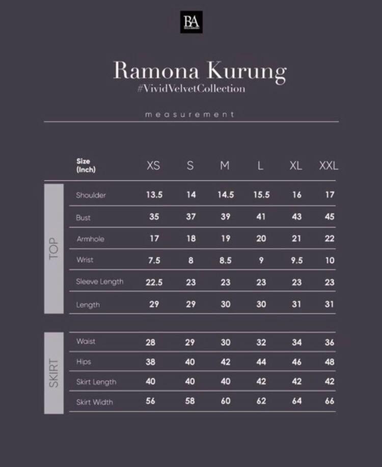 Bella Ammara Ramona Kurung