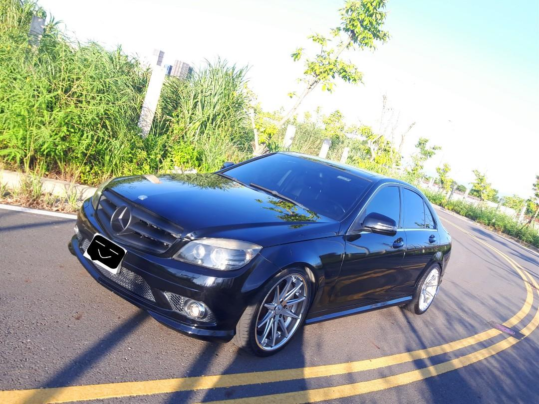 Benz c300 黑