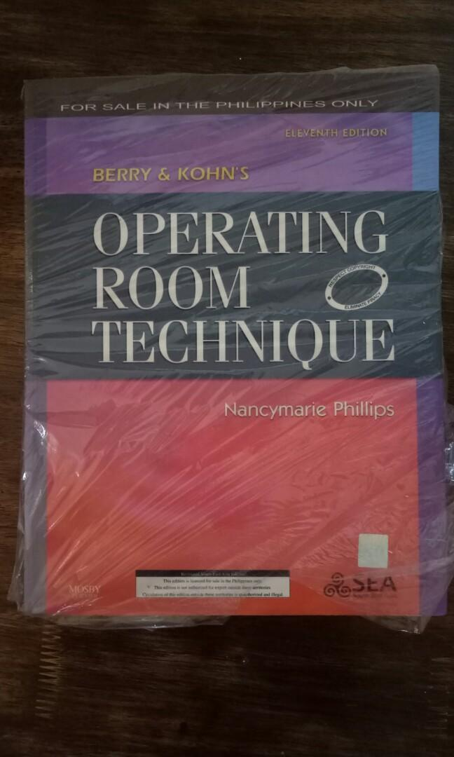 Berry & Kohn's Operating Room Technique (Eleventh Edition) - Nancymarie Philips