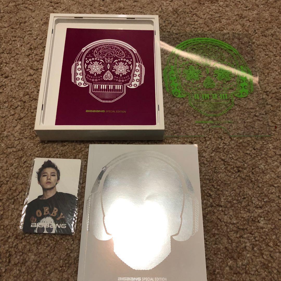 Big Bang  Still ALIVE Album Special Edition(Hardcase)
