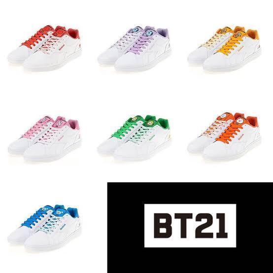 BTS BT21 REEBOK ROYAL COMPLETE 2LCS