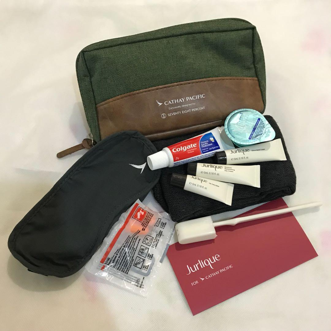 Cathay Pacific Business Class Travelling Essential Pouch