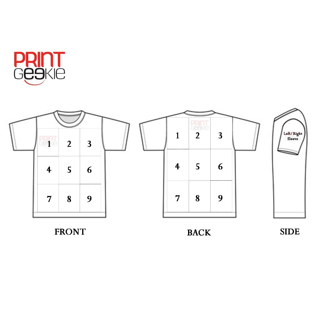 Customised T-shirt Printing