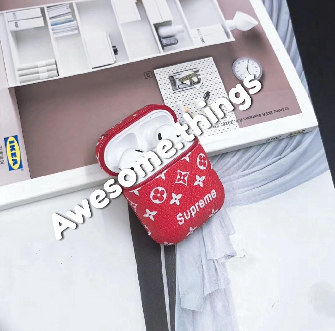 Louis Vuitton Supreme Apple Airpods Air Pods Wireless Case