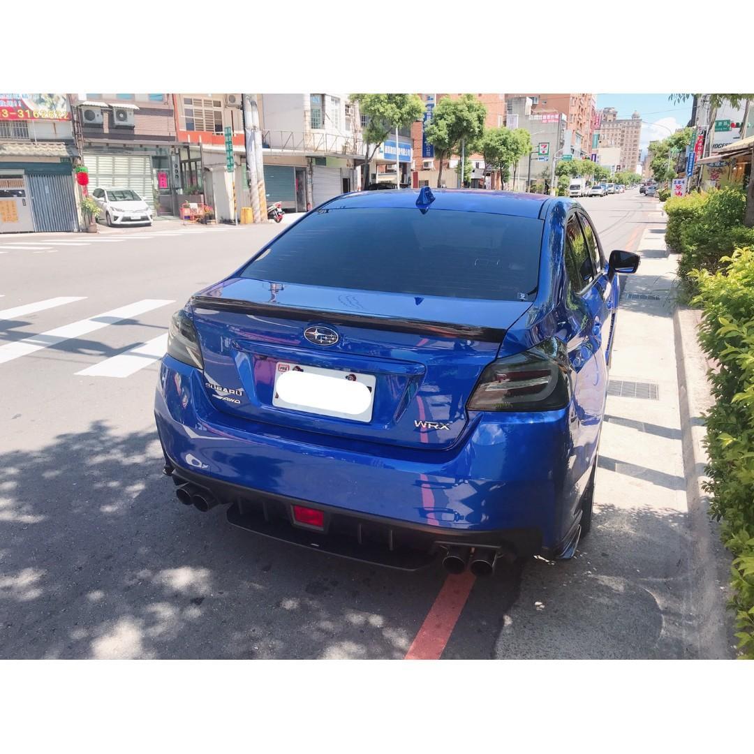 【FB搜尋桃園阿承】速霸陸 超人氣WRX 2017年 2.0 藍色 二手車 中古車