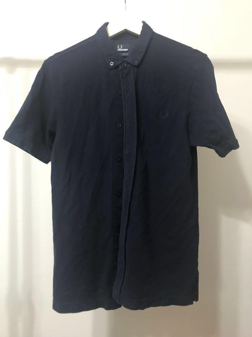 Fred Perry Short Sleeve Cotton Piqué Shirt