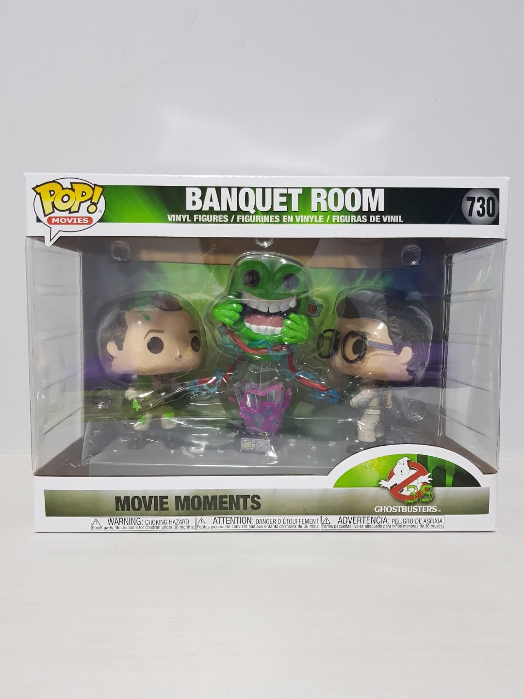 Funko Pop Banquet Room Movie Moments 3-Pack #730 Exclusive Ghostbusters