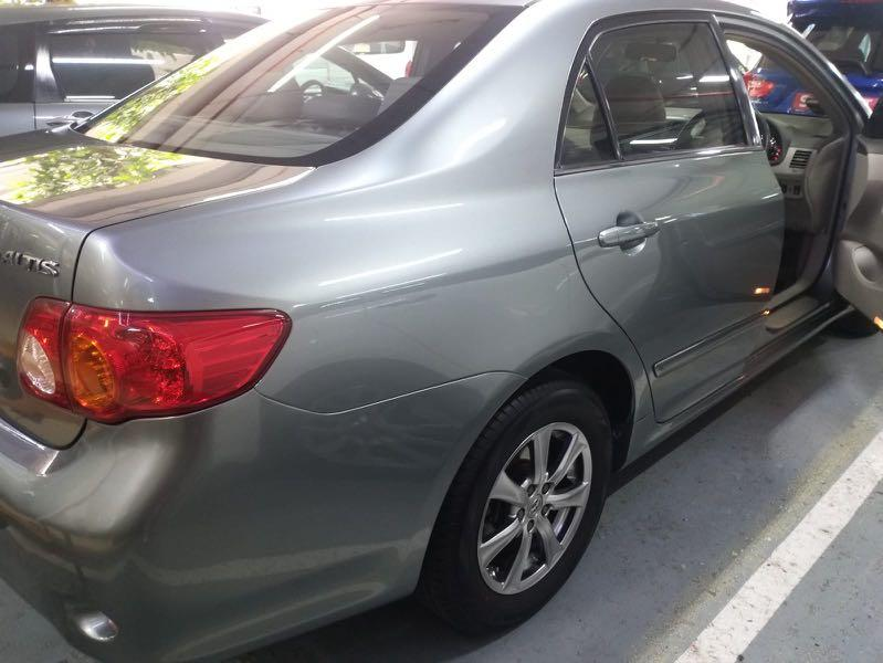 [GoJek / Grab / Car Rental] TOYOTA Altis $350 Weekly