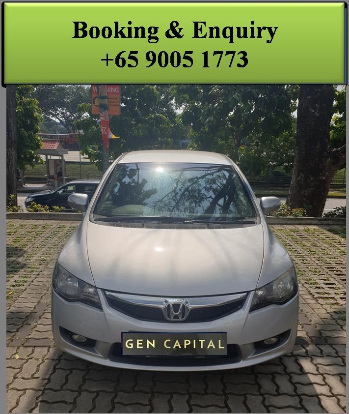 Honda Civic 1.8 Auto - Lowest rental rates, good condition!