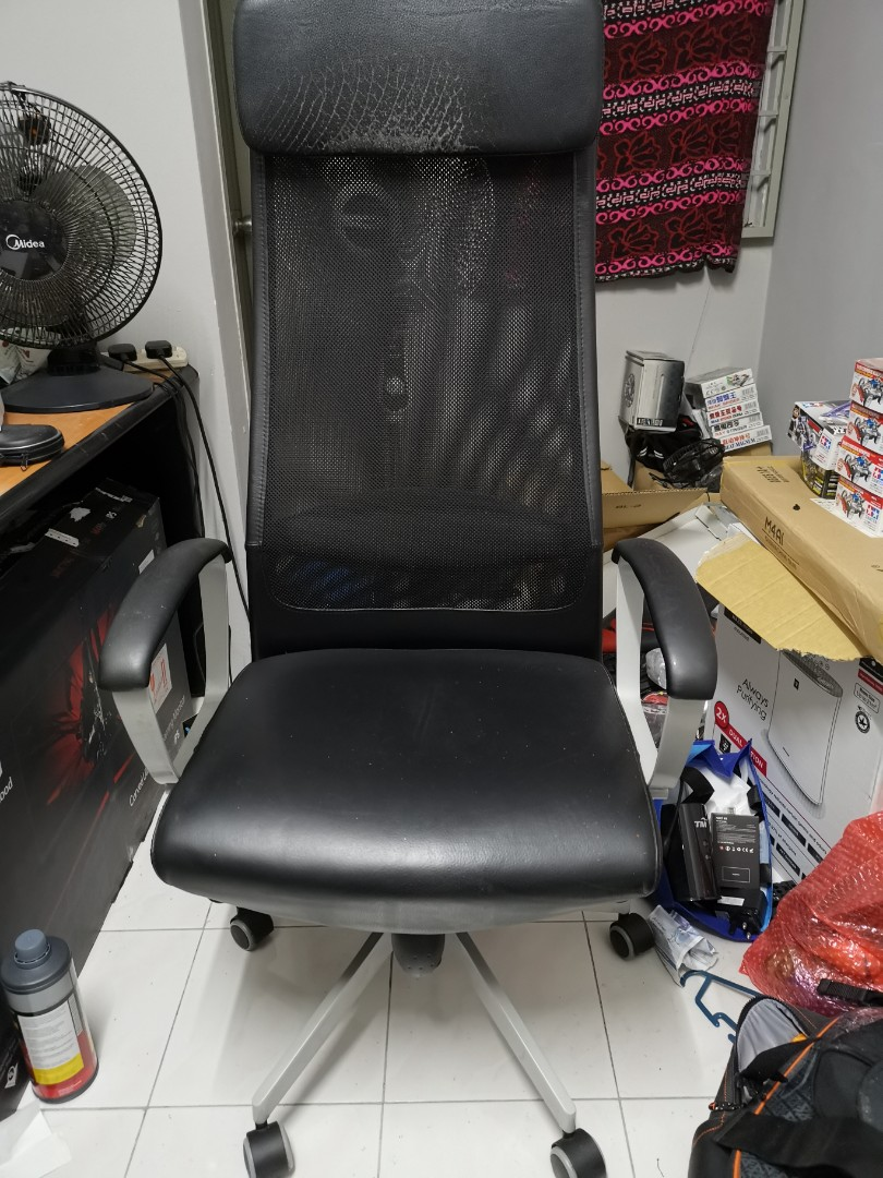 Superb Ikea Markus Office Gaming Streaming Chair On Carousell Pdpeps Interior Chair Design Pdpepsorg