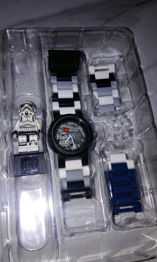 Lego Star Wars Stormtrooper Buildable Watch - Jam Tangan Lego - Lego Watch #LalamoveCarousell #HBDCarousell