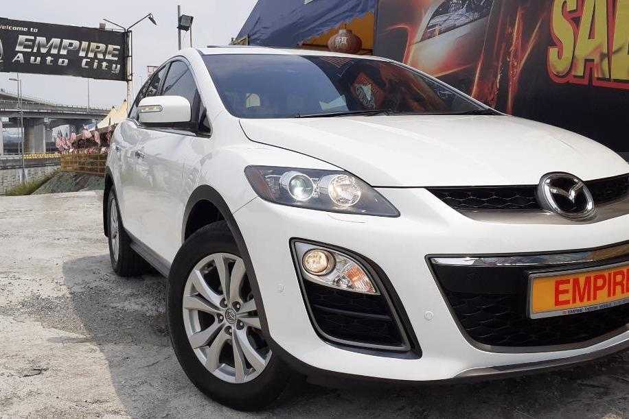 MAZDA CX-7 2.3 (A) SPORT MZR DISI TURBO 2WD !! 6 SPEED AUTOMATIC TRANSMISSION !! NEW FACELIFT !! 5 SEATERS SUV !! BOSE SOUND SYSTEM WITH 9 SPEAKERS / SUNROOF / 2 X KEYLESS ENTRY !! PREMIUM SUV FULL HIGH SPECS !! ( MXX 622 ) 1 CAREFUL OWNER !!