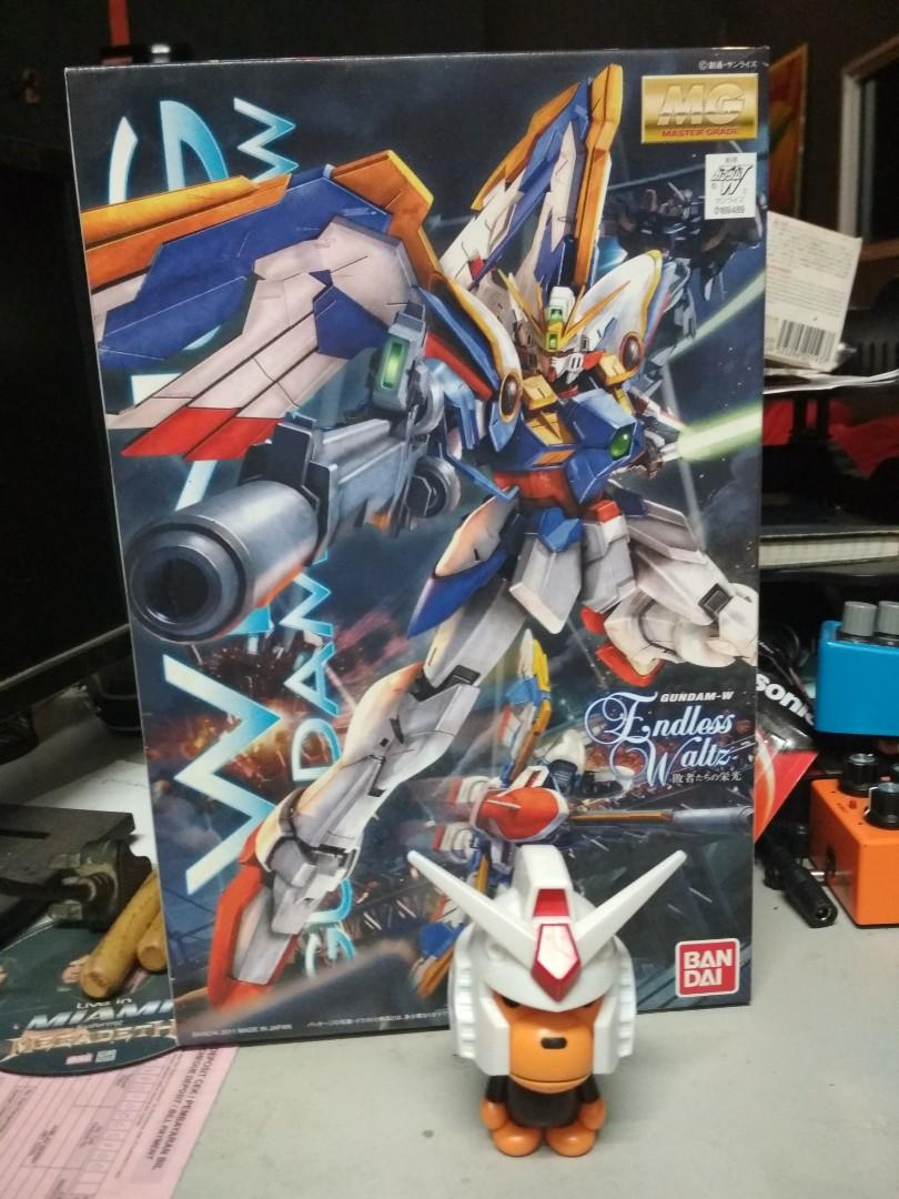 Mg 1 100 Wing Gundam Ew Toys Games Action Figures Collectibles On Carousell