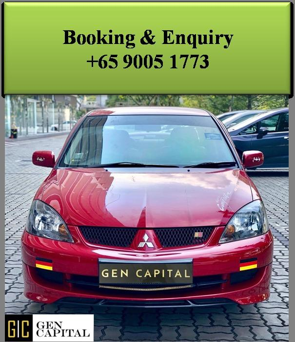 Mitsubishi Lancer GLX 1.6A - Lowest rental rates, good condition!