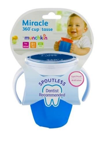 Munchkin Miracle 360 Trainer Cup 360 度學習杯 207ml