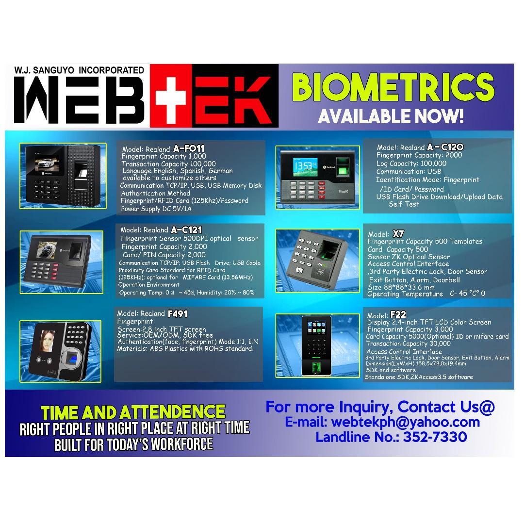 Murang Biometrics, Electronics, CCTV & Security Products on