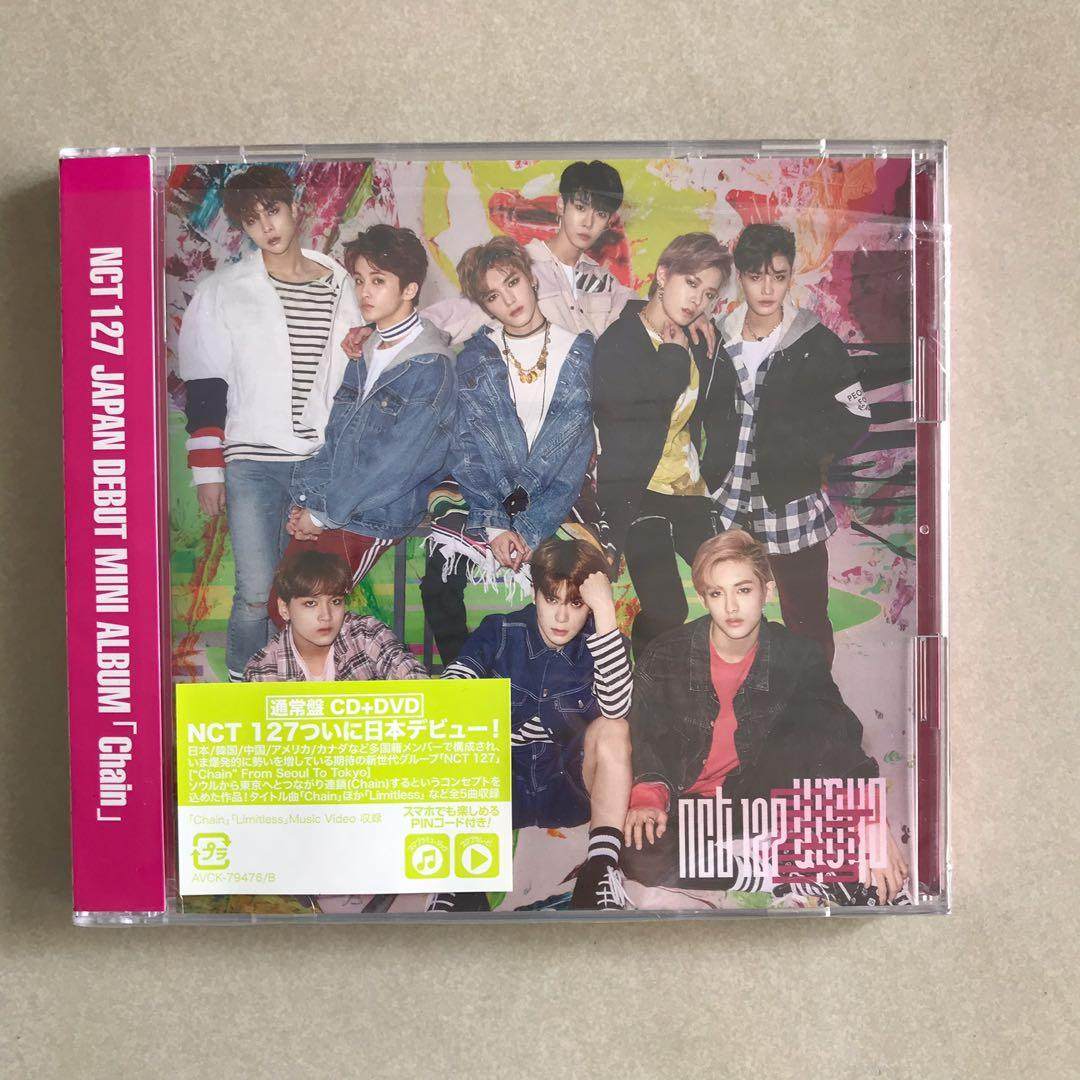 nct127 chain CD DVD