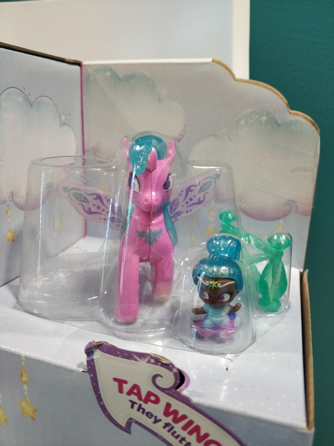 NEW Shimmer and Shine Zahracorn Skies Play Park Set