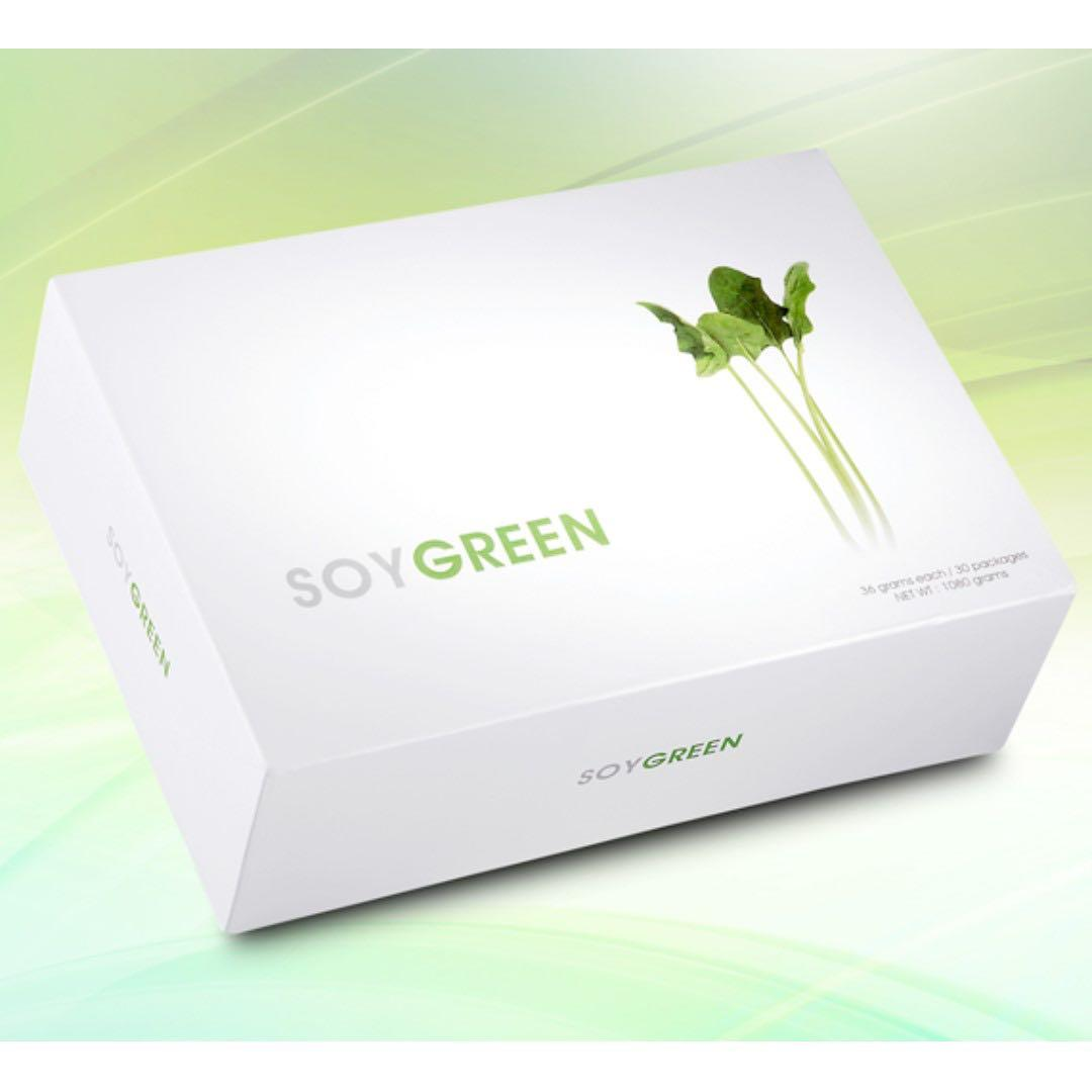 *NEW-Soygreen 36g x 30 packets