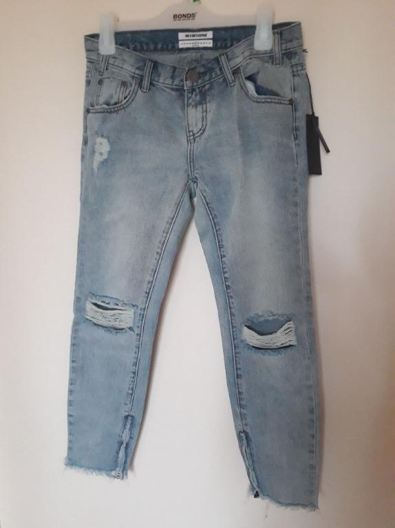 Oneteaspoon blue hart freebirds jeans size 27 new with tags