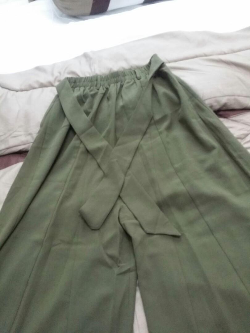 Palazo army green