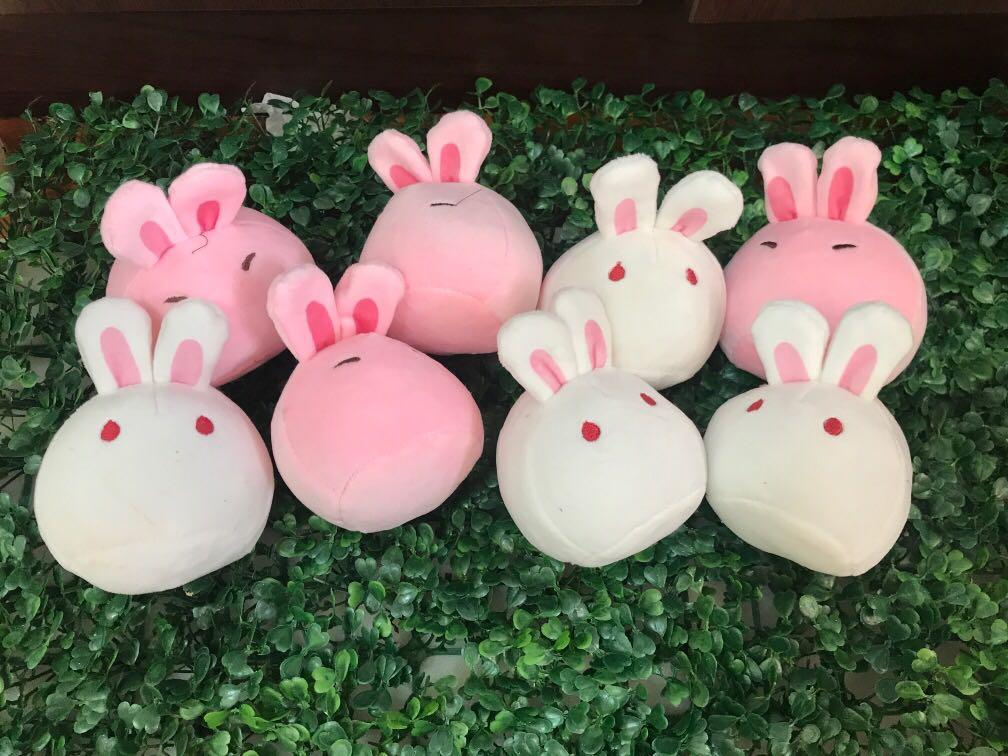 P.O. Japan Imported Dango Usagi Rabbit Pink White Stuff toy