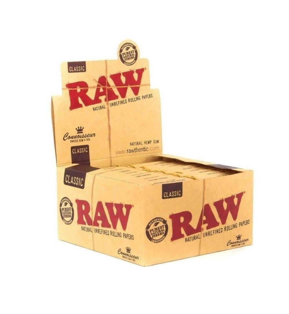 RAW Classic Rolling Papers King Size
