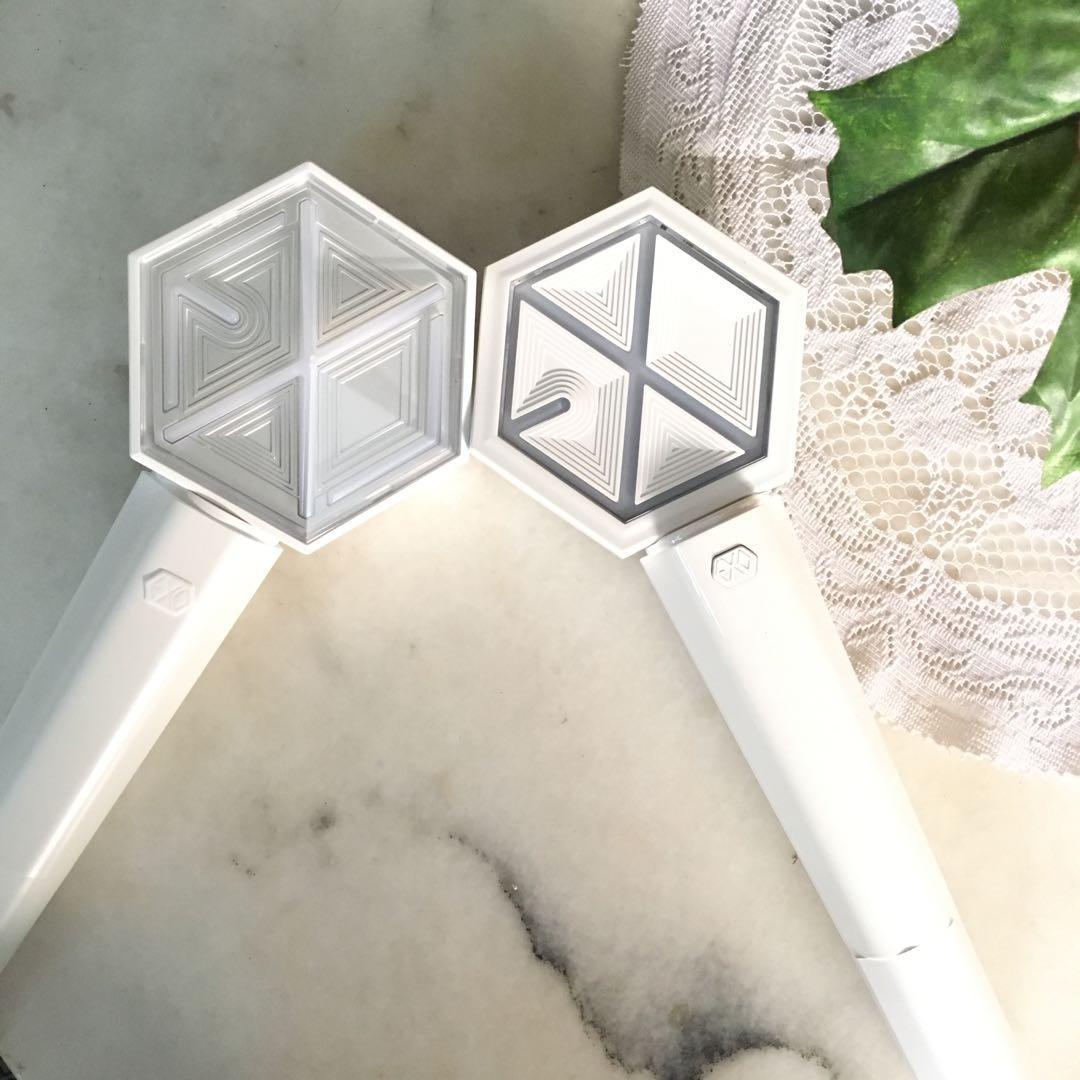 READY STOCK - New Official Light Stick Exo versi 3 + Baterai