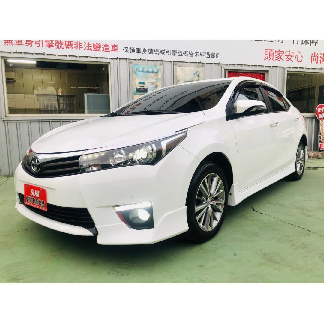 【SUM尼克汽車】2014 Toyota Altis Z 1.8L