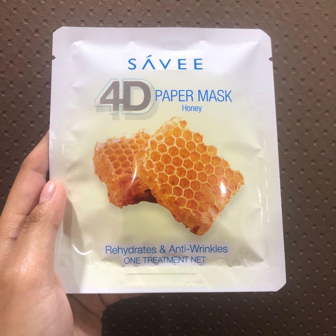 SÁVEE 4D Paper Mask Set