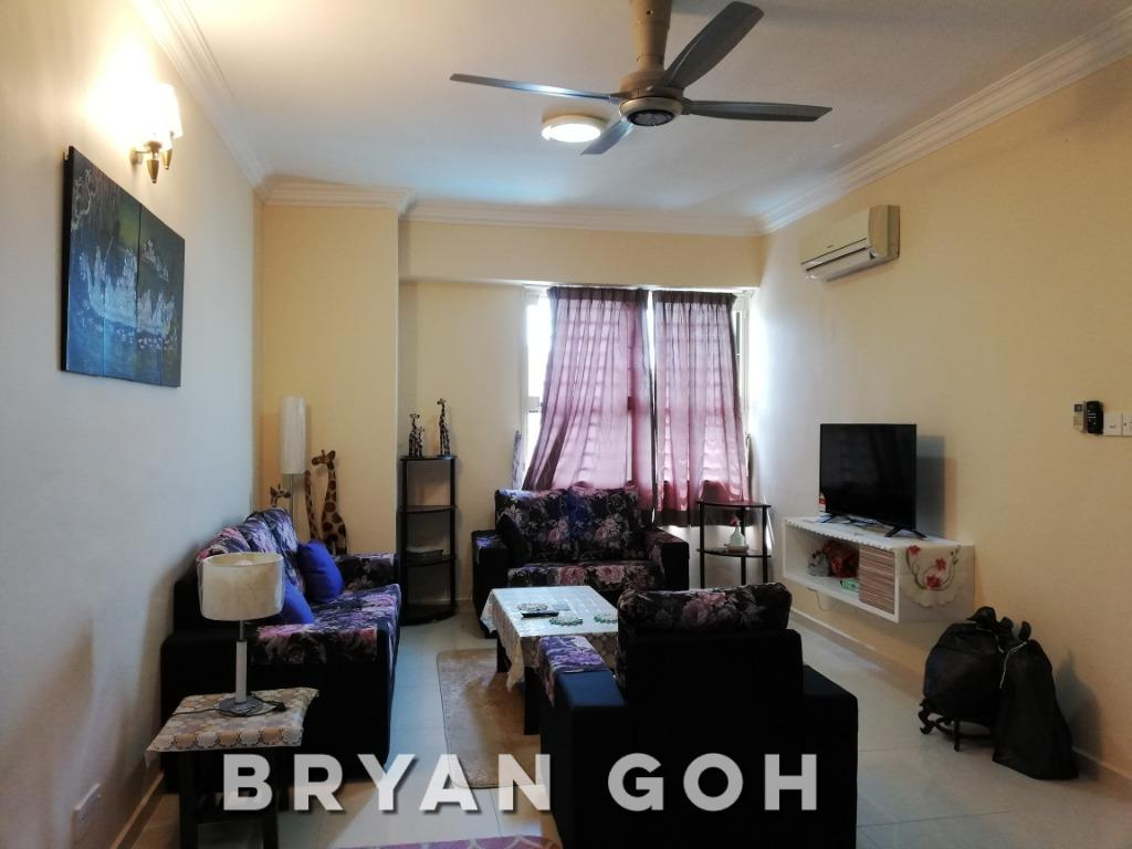 Grand Ocean Tanjung Bungah Fully Furnished Condo with 2 Carpark