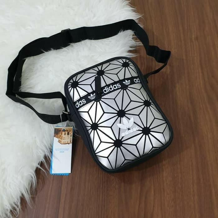 tas selempang sling bag unisex pria wanita x issey miyake super import #joinagustus