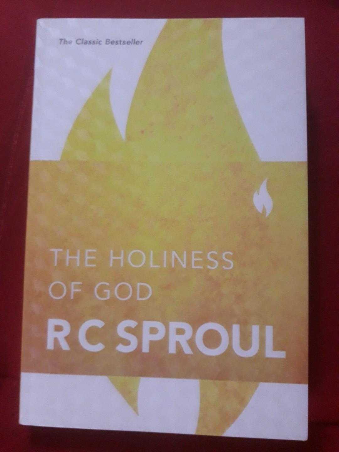 The Holiness Of God By Rc Sproul Books Books On Carousell