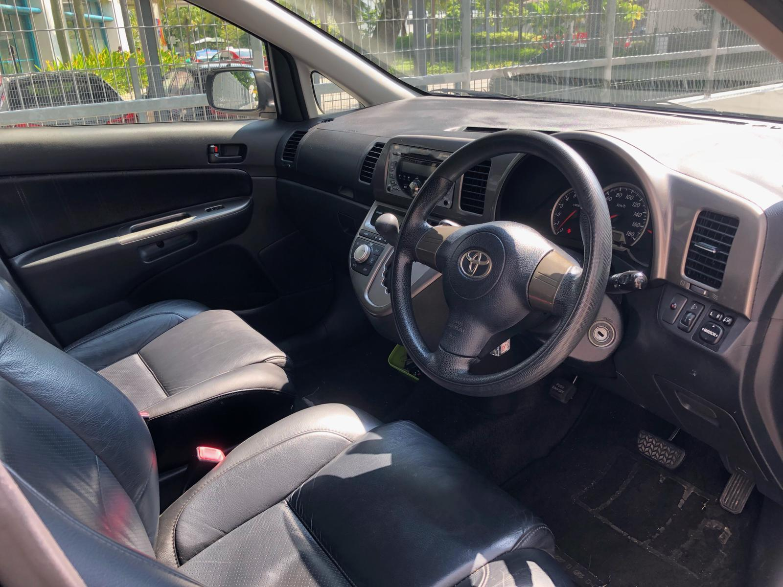TOYOTA WISH*7 seater mpv*BEFORE GOJEK REBATE Car Axio Premio Allion Camry Honda Stream Civic Cars Hyundai Avante $50 perday PHV  For Rent Grab Rental Gojek Or Personal Use Low price and Cheap