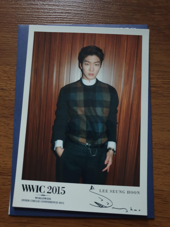 WINNER Seunghoon postcard