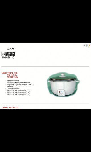 TRC 98 Electric Rice Cooker 10L