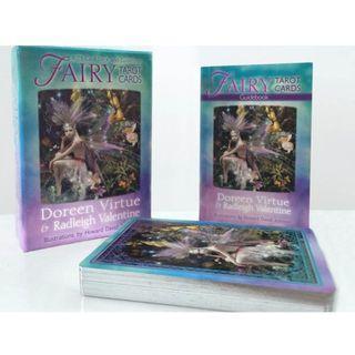 現貨 Fairy Tarot Cards 精靈仙子塔羅牌 Doreen Virtue 朵琳夫人 卡牌三件超商免運