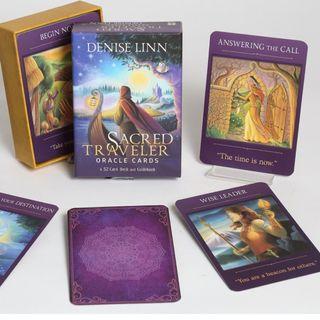 現貨 Sacred Traveler Oracle Cards 崇聖旅者神諭卡 卡牌三件超商免運