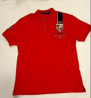 現貨秒發 台灣高級精品Polo衫,值感十足,韓系,男版,精品大尺碼,紅色