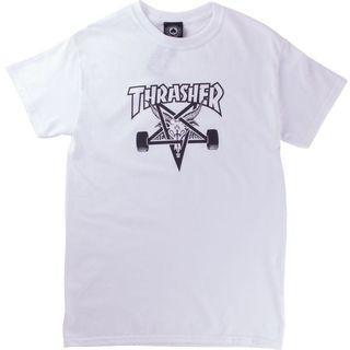 Thrasher skate goat T-shirt (保存良好)