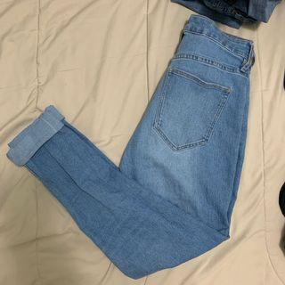 High wasted H&M jeans