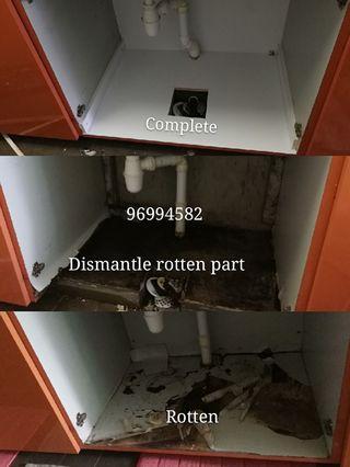 Repair wardrobe and kitchen cabinet