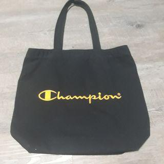 Champion - Embroidered Tote Bag | Gold x Limited Edition
