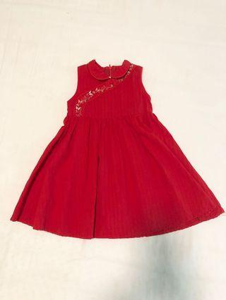 Tiny Button dress