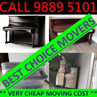 Professional and affordable Movers disposal room moving house moving