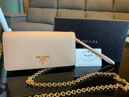 Authentic Prada Wallet on chain
