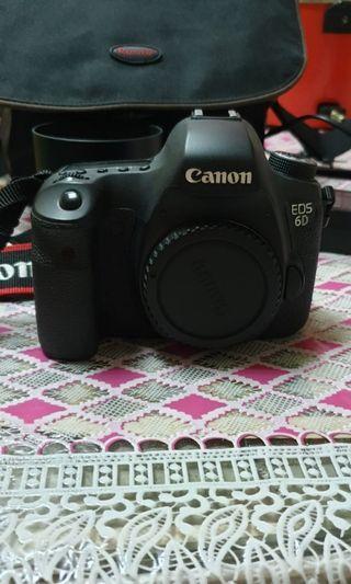 Canon 6D +Lensa 50 mm shutter 25000